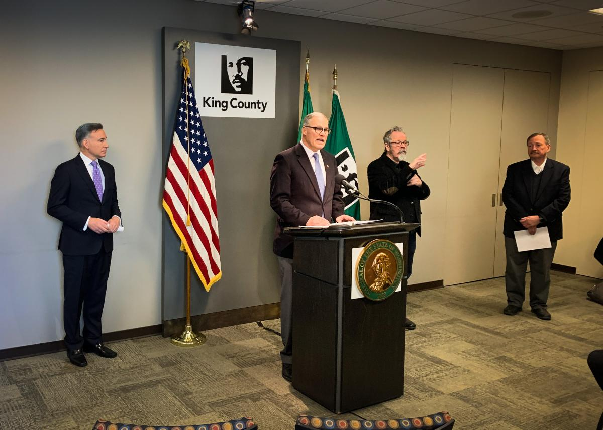Inslee announces statewide shutdown of restaurants, bars and expanded social gathering limits