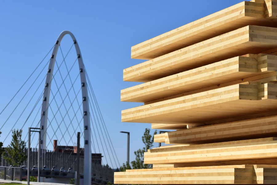 Engineered wood product industry helps lower carbon emissions and create jobs