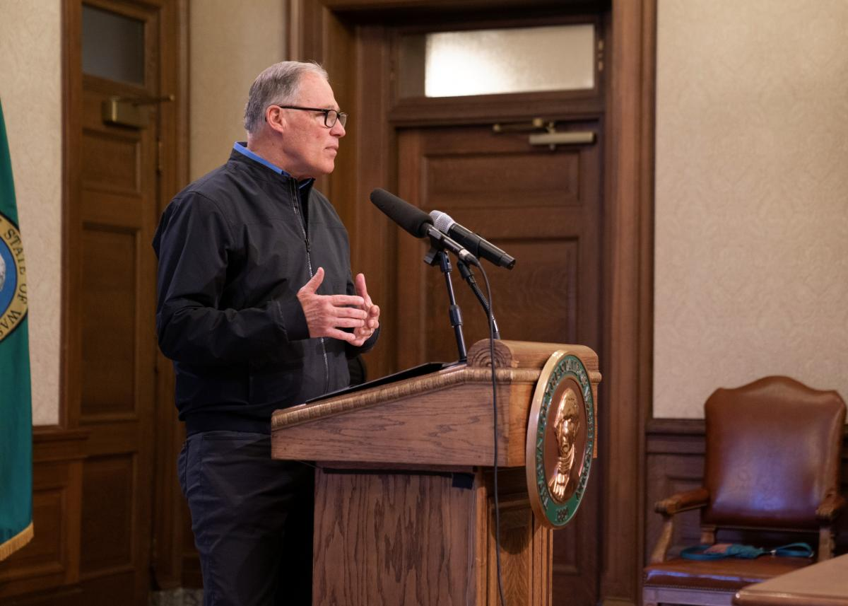 Inslee provides enforcement guidance on 'Stay Home, Stay Healthy' order