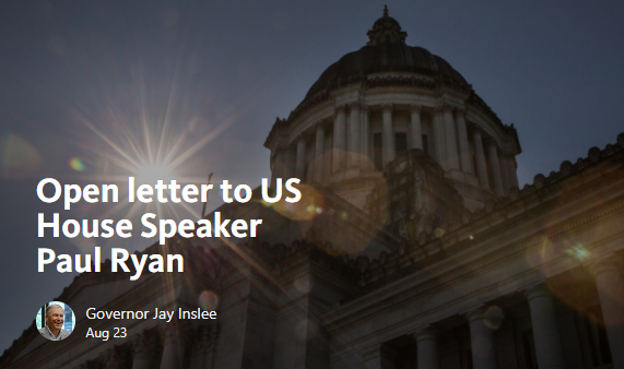 Open letter to Paul Ryan
