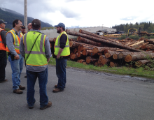 Photo of Hampton Lumber Mill in Darrington, WA