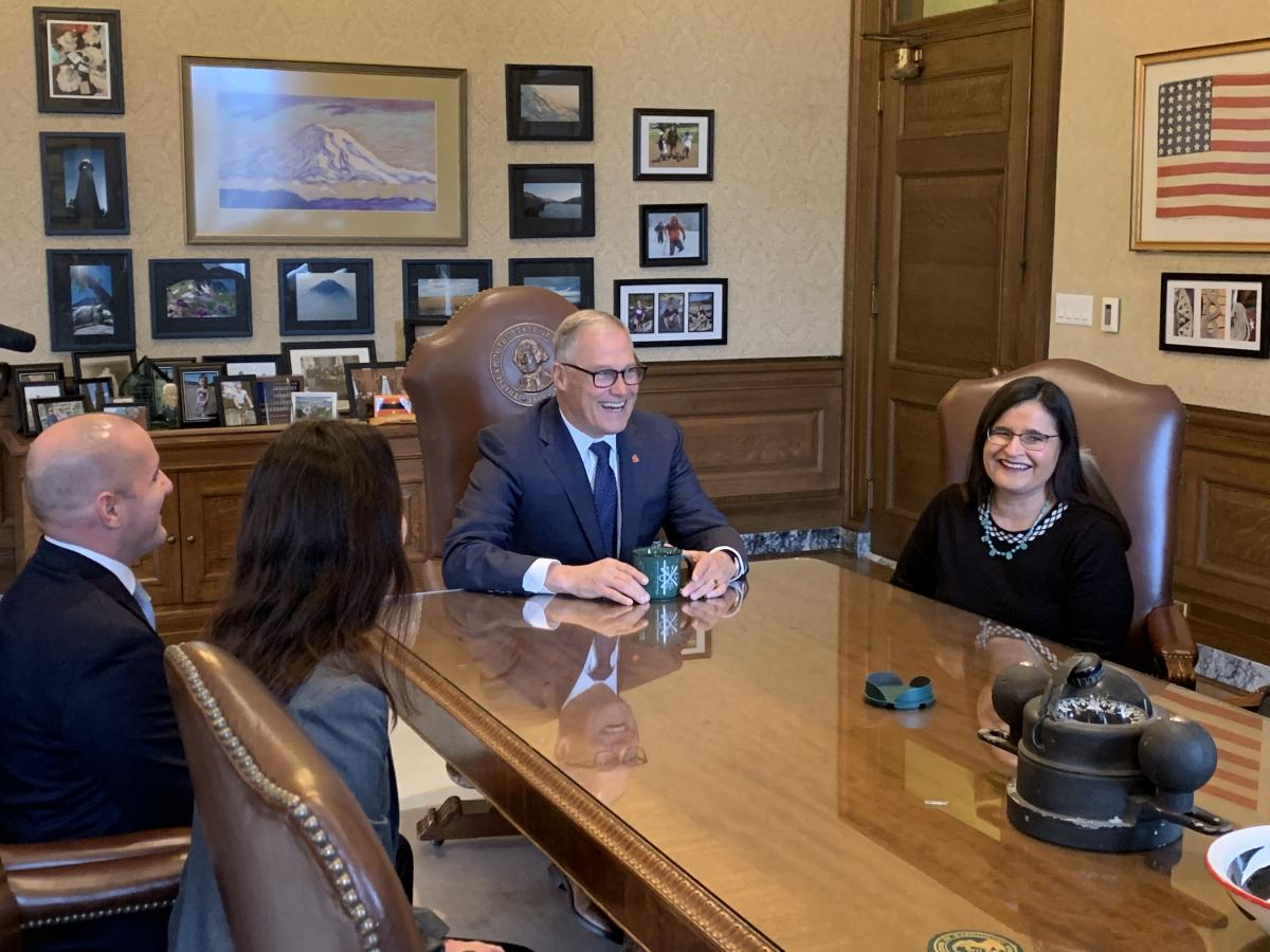 Inslee names first Native American to Washington State Supreme Court