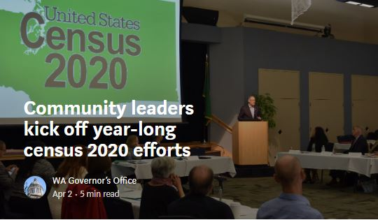 Community leaders kick off year-long census 2020 efforts