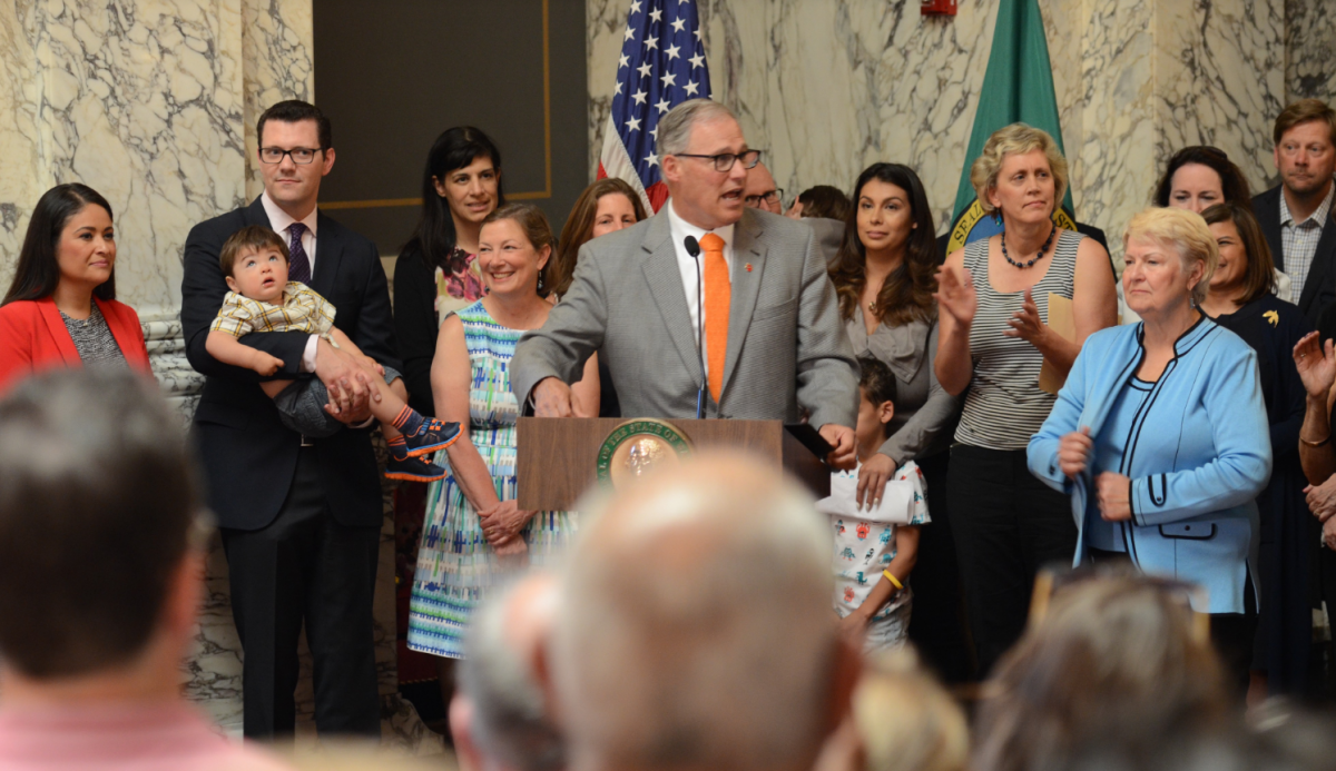 Washington rolls out best paid leave program in thenation