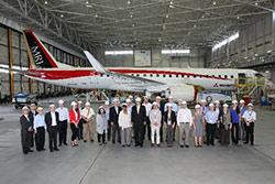 Governor Inslee Toured Mitsubishi Regional Jet Factory in Japan